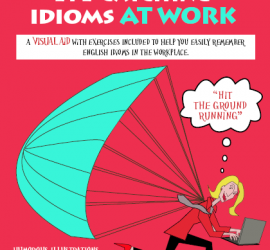LAURA LIPS in Eye-Catching English Idioms at WORK